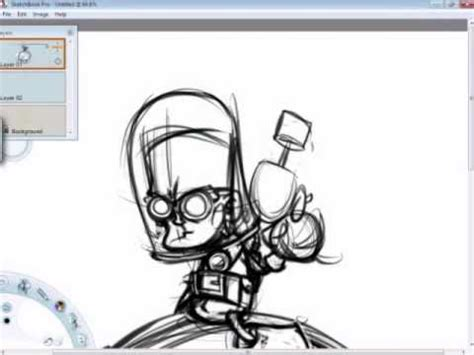 how to do a sketchbook mr freeze in sketchbook pro speed painting drawing