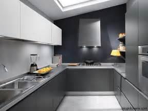 Grey Modern Kitchen Design gray kitchen cabinets modern kitchen design kitchen