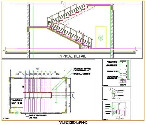 Free Floor Plan Drawing Software Download staircase and railing design plan n design