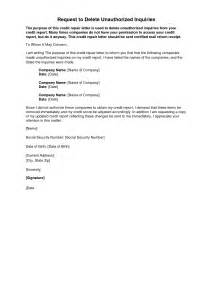 Credit Inquiry Letter Pdf Sle Letter To Remove Inquiries From Credit Report Credit Repair Secrets Credit Repair
