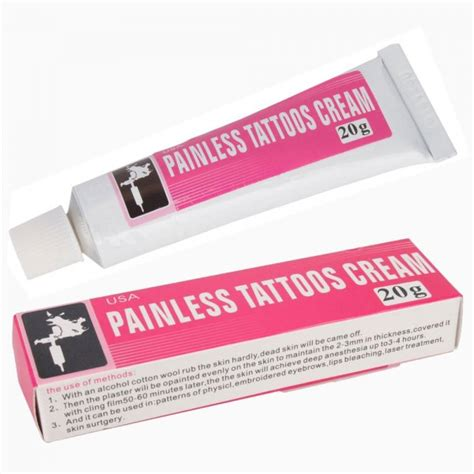 numbing cream for tattoo removal uk new tattoo numbing painless tattoos cream 20g