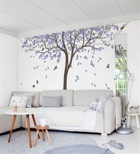 tree wall stickers for bedrooms nursery willow tree wall decal wall sticker tree wall decal