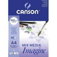 Canson Xl Mix Media A4 1 technique cosmos illustration 03 encre 224 dessiner
