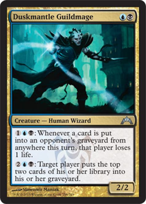 Mtg Dimir Mill Deck by Mind Grind Gatecrash Magic The Gathering At