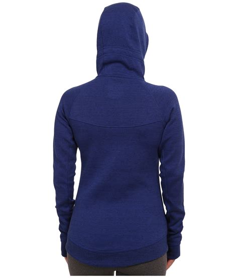 Blue Zip nike tech fleece zip hoodie in blue royal blue black lyst