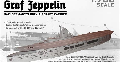 Origami Aircraft Carrier - aircraft carrier graf zeppelin papercraft