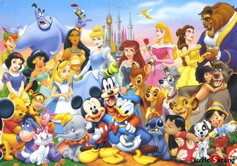 Best Terlaris Puzzle Jigsaw Disney Princess Panorama 1000 Pcs Sni model kit jigsaw puzzle walt disney jigsaw puzzles