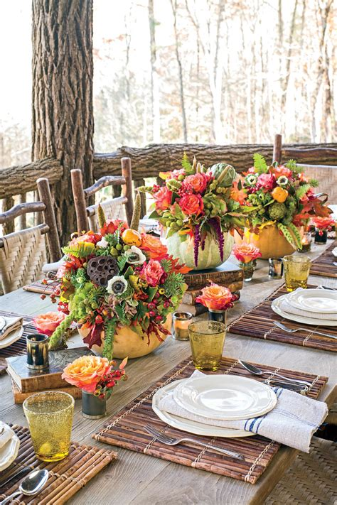 southern living home decor party fall table decorations that will be the hit of your party