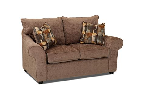 Chenille Sofas And Loveseats Bayside Chenille Loveseat