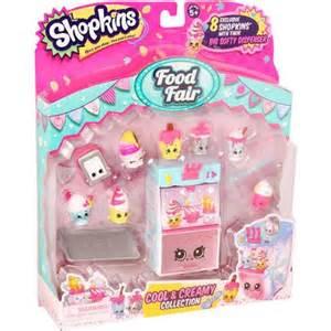 Moose toys shopkins season 3 food fair themed packs cool and creamy