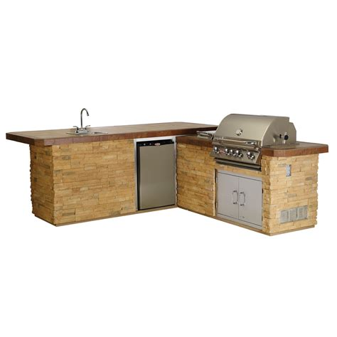 gourmet kitchen island cucina da esterno bull gourmet q outdoor kitchen island in