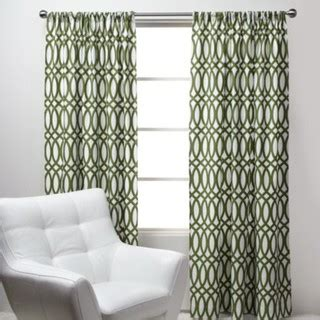 Green Patterned Curtains Geo Panels Green Modern Curtains By Z Gallerie
