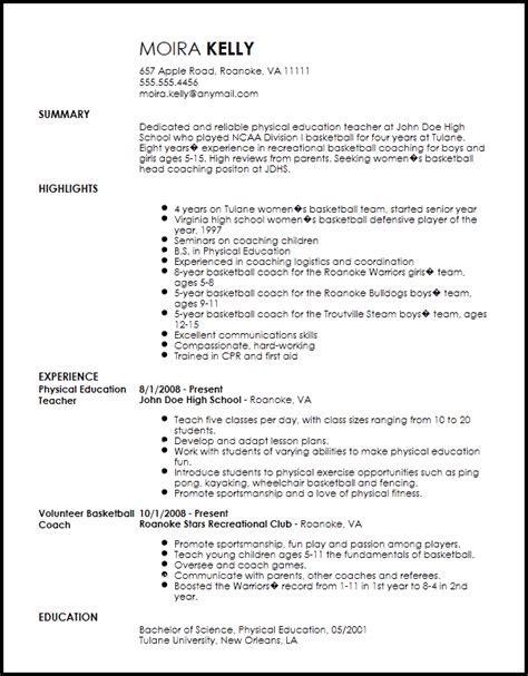 Sports Resume Sample - Sportredakteur CV Beispiel VisualCV ...