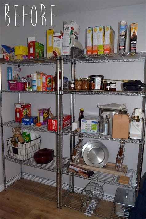 Wire Pantry Shelving by The Crux You Won T Believe This Easy Pantry Shelving