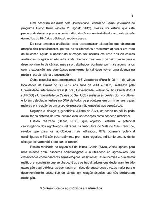 Agrotóxicos no brasil uso e impactos ao meio ambiente e a