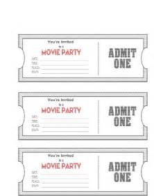 ticket templates free ticket invitation template free