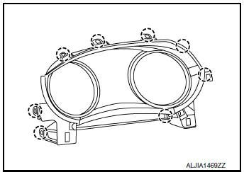 nissan rogue service manual cluster lid a removal and