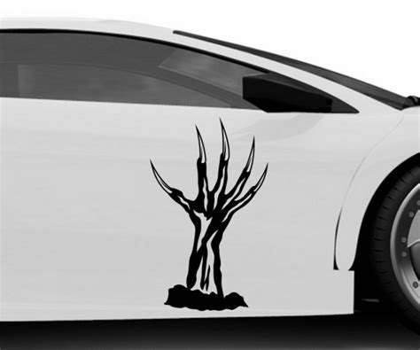 Auto Aufkleber Hand by Autoaufkleber Horror Hand Monster Zombie Halloween Sticker