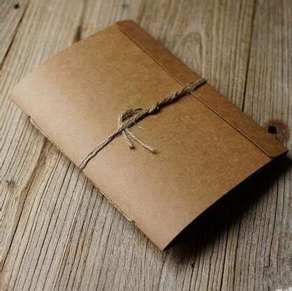 canapé diy hemp binding 20 sheets 40p simple kraft paper albums