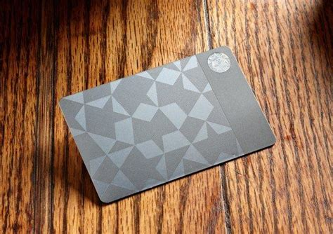 Expensive Starbucks Gift Card - starbucks goes glam with 450 stainless steel gift card google hangout latimes