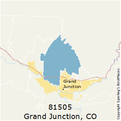 zip code map grand junction co best places to live in grand junction zip 81505 colorado