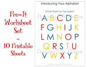 5 best images of pre k free printable worksheets free