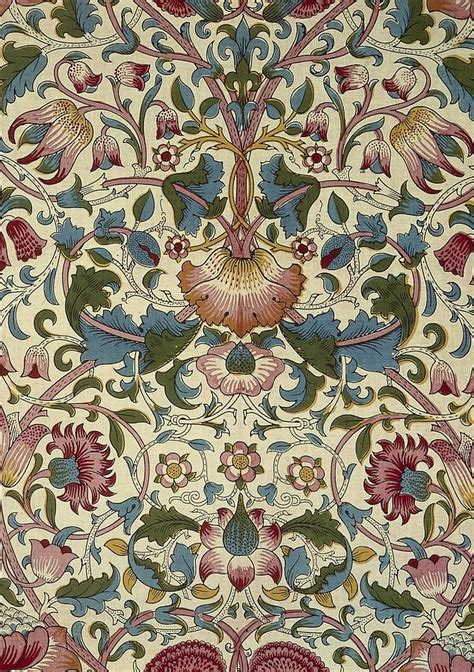 Curtains Floral Print Floral Pattern Tapestry Textile By William Morris
