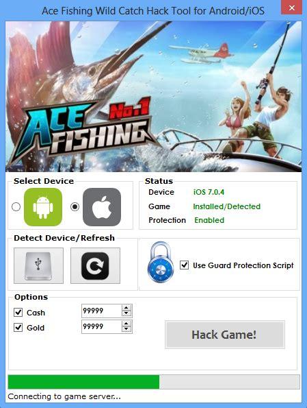cara mod game ace fishing ace fishing wild catch hack tool ace fishing wild catch
