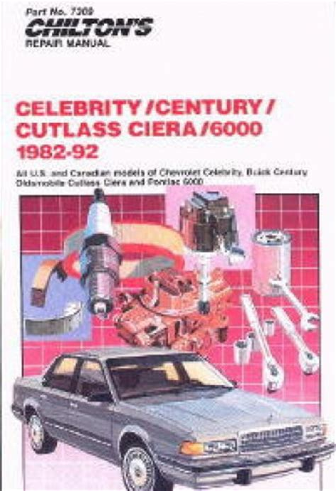 manual repair free 1989 buick century regenerative braking chilton gm celebrity century cutlass ciera 6000 1982 1992 repair manual