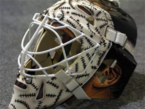 mask layout design jobs steve shields has been using goalie masks from warwick