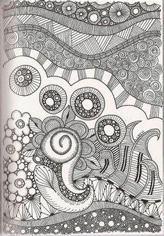 doodle glam drawing zentangle mandalas tutorial con en espa 241 ol