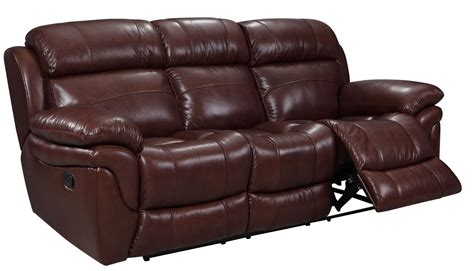 Edinburgh Brown Leather Power Reclining Sofa 1555 E2201 Leather Sofas Edinburgh