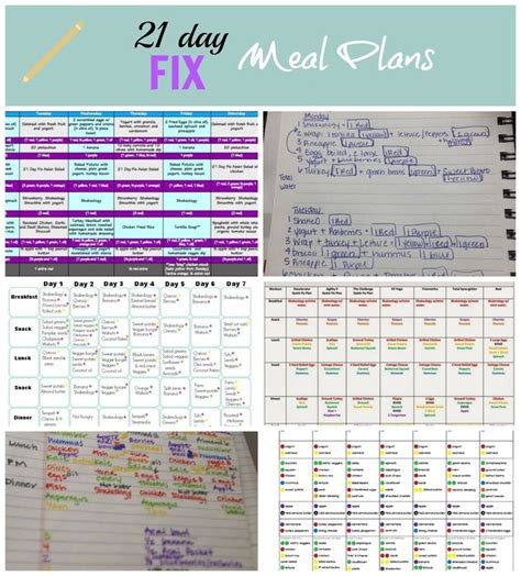 how to create a 21 day fix meal plan weekly meal planner 1000 images about 2100 2300 21 day fix meal plans on