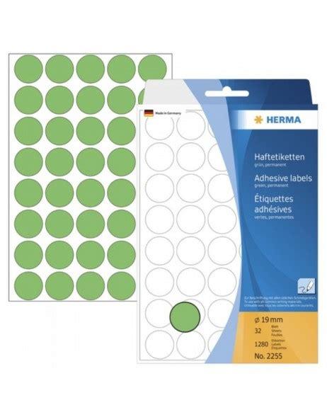 Etiketten Rund 80 by Vielzwecketiketten Gr 252 N 216 19 Mm Rund Papier Matt 1280 St