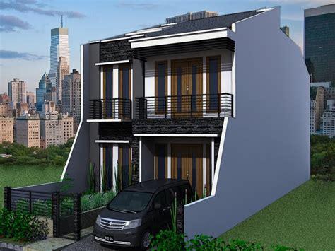 berbagai desain rumah minimalis modern type 36 2 lantai