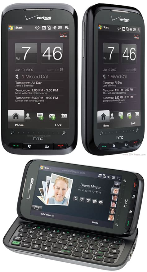 Hp Htc Touch Pro htc touch pro2 cdma pictures official photos