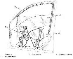 nissan altima side front window motor