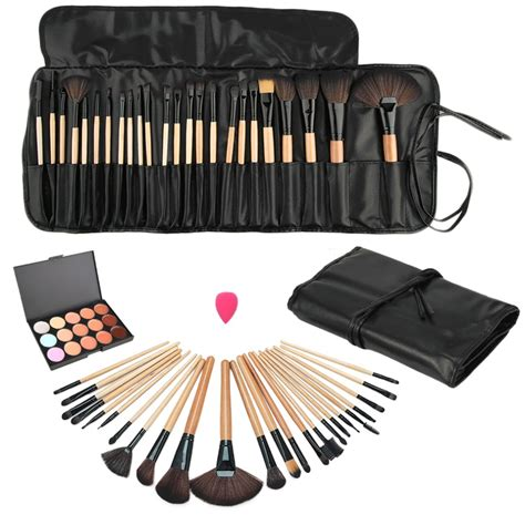 Makeup Set Pac by Essentials Cosmetics Makeup Brushes Set