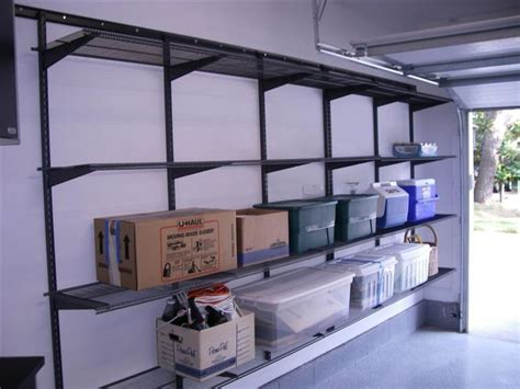 best 25 garage shelving ideas on