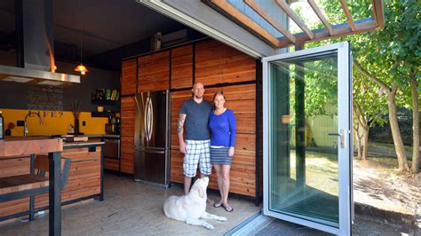 their home couple converts 480 square foot garage into their home