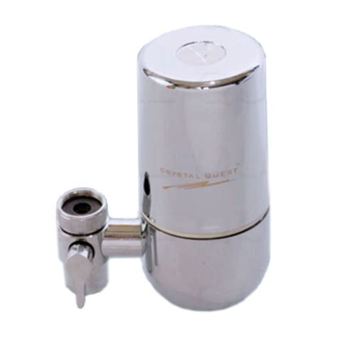 Faucet Mounted Water Filter by Faucet Mounted Water Filter Chrome Quest