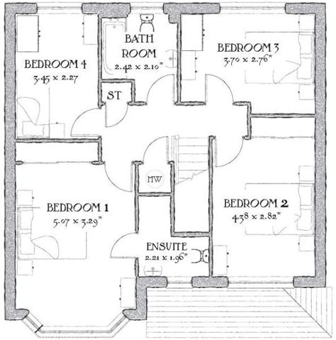 Redrow Oxford Floor Plan | 4 bedroom house for sale in mold road penymynydd ch4 ch4