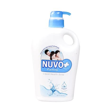 Sabun Nuvo 250 Ml jual nuvo caring blue bottle wash 600 ml