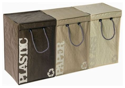 recyclebags recycling bins 3 contemporary trash