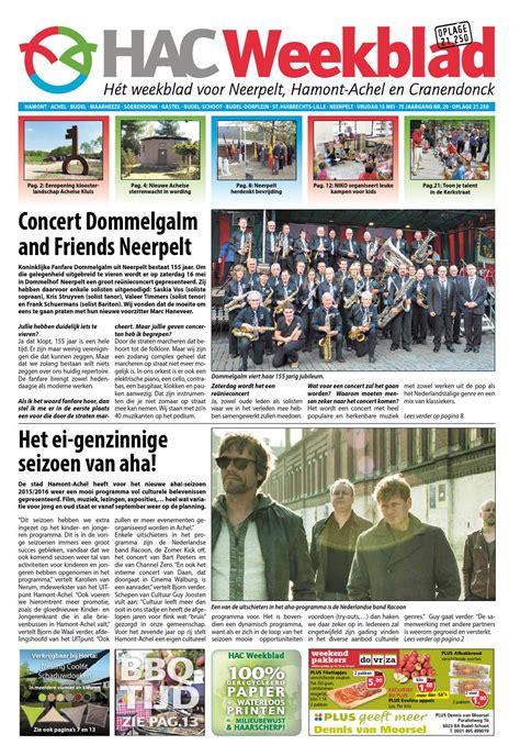 sleutjes bloemen den bosch hac neerpelt week 20 2015 by hac weekblad issuu