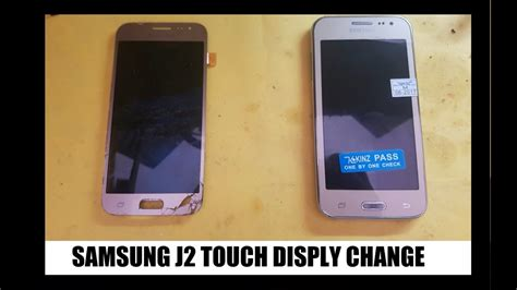pattern unlock samsung j2 samsung j2 sm j200g touch and display change video