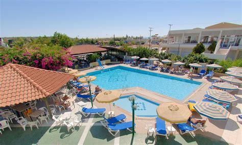 Swimming Pool Table And Chairs Kolymbia Sun Hotel Kolymbia Rhodes Greece Book