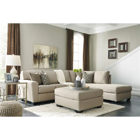 pantomime right chaise sectional benchcraft calicho contemporary sectional with right