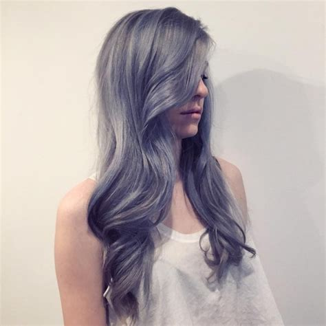 Cheveux Style 2016 by Cheveux Gris Mode 2016 Une Tendance Qui Vient Avec Un Prix