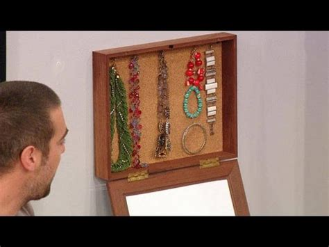 how to make your own jewelry box how to easily make your own hanging jewelry box picture